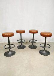 Vintage industrial barstools barkrukken sixties design