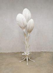 Vintage design floor lamp vloerlamp Hans Kogl 'Lily leaves'