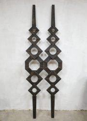 midcentury design wall door sculpture sculptuur deur abstract wanddeco vintage