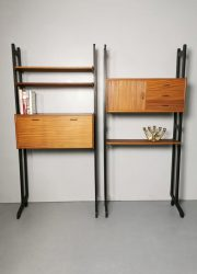 Vintage Simpla lux wall unit cabinet wandsysteem wandkast