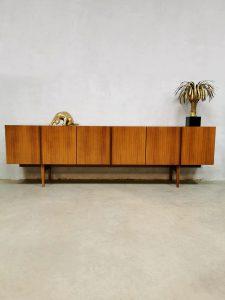 Midcentury vintage Danish design sideboard Deens dressoir 'minimalism' XXL