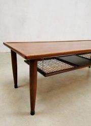 vintage webbing coffee table design salontafel koffie tafel deens scandinavisch