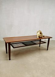Midcentury Danish design coffee table salontafel 'webbing'