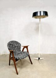 Vintage Dutch design floor lamp vloerlamp Evolux Hiemstra