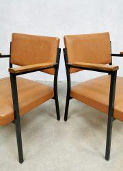 vintage armchairs industrieel stoelen