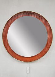 midcentury mirror Floris Fiedeldij spiegel