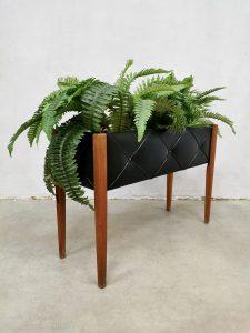 Vintage design plant stand plantenstandaard 'mad men style'
