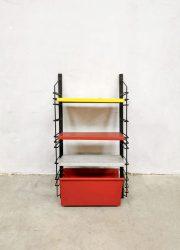 Drentea wall unit industrial rack magazine holder wandsysteem Tomado Pilastro style