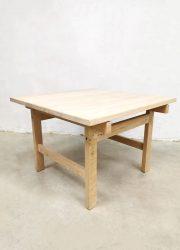 vintage salontafel Hans Wegner Andreas Tuck coffee table light oak