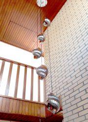 vintage design luster hanglamp Henri Mathieu
