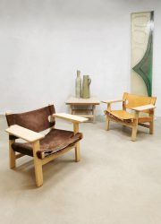 vintage midcentury chair Borge Mogensen Spanish chair
