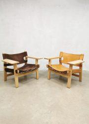 vintage Spanish chair Borge Mogensen midcentury
