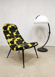 Vintage Italiaanse Serpente vloerlamp floor lamp Martinelli Italian design