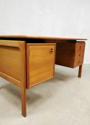 Danish desk Arne Vodder bureau teak Gv Mobler