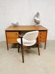 Vintage Danish design desk bureau Arne Vodder GV Mobler