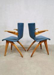 vintage Dutch design Culemborg eetkamerstoel chair