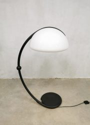 Vintage design 'Serpente' floor lamp booglamp Elio Martinelli Luce