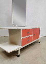 Vintage fifties Auping dressing table kaptafel formica
