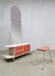 Vintage design dressing table kaptafel 'fifties formica'
