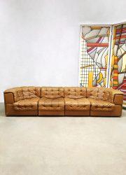Vintage modular patchwork sofa modulaire bank De Sede DS-11