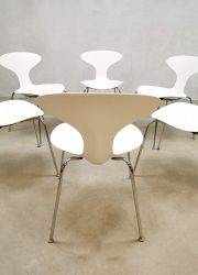 Orbit dining chairs Bernhardt design USA dining chairs eetkamerstoelen