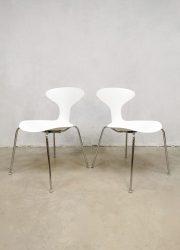 Orbit stoelen dining chairs eetkamerstoelen stacking chairs Lovegrove design USA