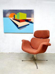 Modern Contemporary Art painting schilderij geometric colored shapes