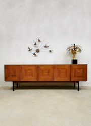 sideboard midcentury design cabinet dressoir Bohemia Czech design