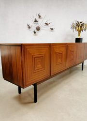 vintage Czech design sideboard dressoir Bohemia