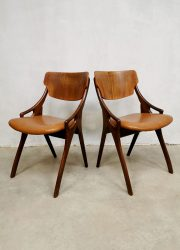 Hovmand Olsen dining chairs eetkamerstoelen Danish design
