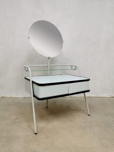 Vintage Dutch Auping dressing vanity table dresser kaptafel 'minimalism'