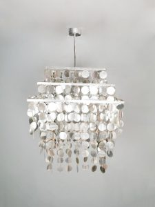 Vintage Kare design chandelier pendant hanglamp 'Long live the eighties'