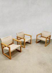 vintage safari stoelen Karin Mobring Swedish design IKEA