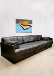 Vintage design DS-76 modular sofa modulaire bank De Sede