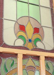 stained glass doors ramen deuren belle epoque antieke deuren