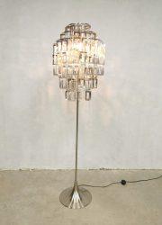 80's tulip floor lamp vloerlamp 'Funky 80's disco fever'