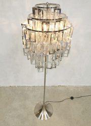 Vintage tulip floor lamp vloerlamp 'Funky 80's disco fever'