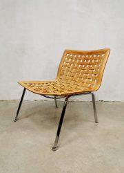 midcentury Italian design easy chair 1980 fauteuil