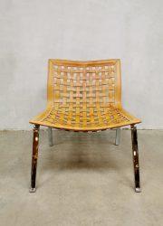 Italian design easy chair Vegni fauteuil 1980 vintage easy chair