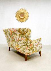 Theo Ruth Dutch design fauteuil botanical lounge set