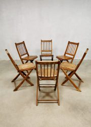 vintage folding chairs chinese design klapstoelen 6