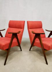 midcentury design easy chairs lounge fauteuils