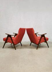 lounge fauteuils Webe Louis van Teeffelen easy chairs lounge fauteuils