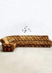 Vintage modular sofa modulaire elementen bank 'sixties power'