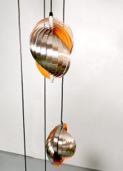 midcentury design Henri Mathieu twirling hanglamp