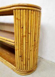 vintage bamboe dressoir roomdivder jaren 60 70 sideboard bamboo sixties design