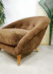 Vintage Dutch design chair Teddy lounge fauteuil