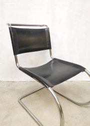 Knoll International fauteuil MR10 Mies van der Rohe vintage design dining chair