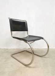 Mies van der Rohe vintage sixties seventies design Knoll International lounge dining chair fauteuil MR10