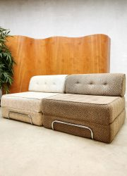 vintage sixties daybed sofa fauetuil
